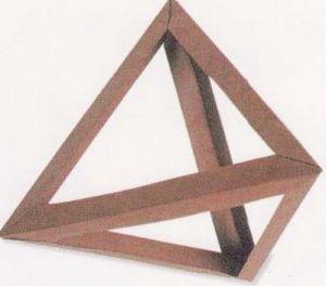 как из бумаги сделать тетраэдр16