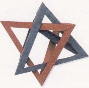 как из бумаги сделать тетраэдр17