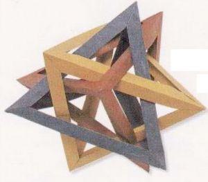 как из бумаги сделать тетраэдр18
