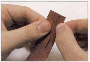 как из бумаги сделать тетраэдр2