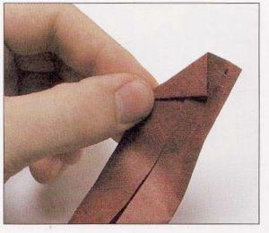 как из бумаги сделать тетраэдр3