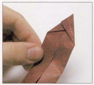 как из бумаги сделать тетраэдр4