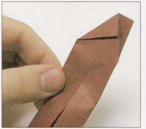 как из бумаги сделать тетраэдр5