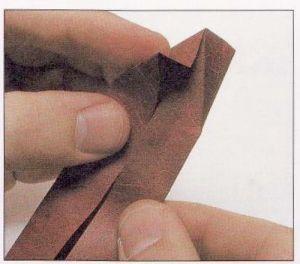 как из бумаги сделать тетраэдр6