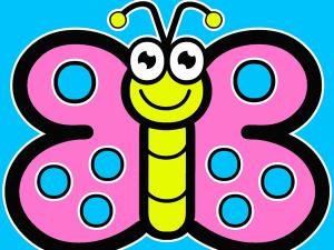как нарисовать бабочку 1
