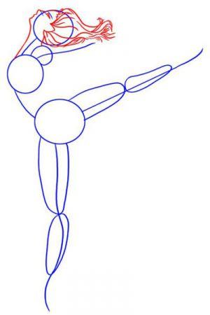 Как нарисовать балерину 12