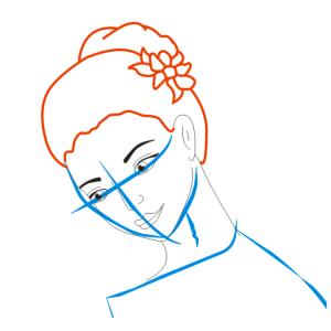 Как нарисовать балерину 19