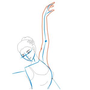Как нарисовать балерину 21