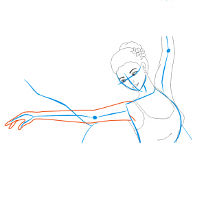 Как нарисовать балерину 22
