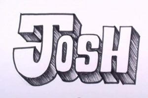 Как нарисовать граффити на бумаге 17