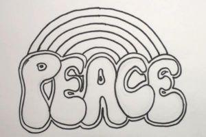 Как нарисовать граффити на бумаге 9
