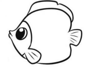 как нарисовать красивую рыбку 5