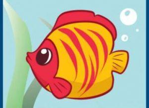 как нарисовать красивую рыбку 6