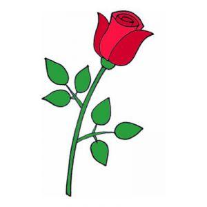 Как нарисовать поэтапно розу 8