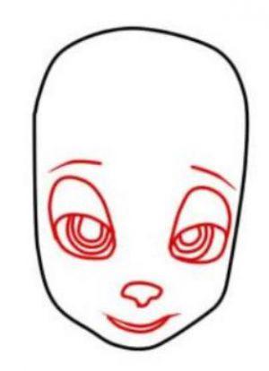 Как нарисовать Розу Барбоскину 2