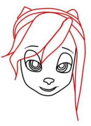 Как нарисовать Розу Барбоскину 3