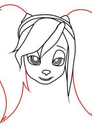 Как нарисовать Розу Барбоскину 4