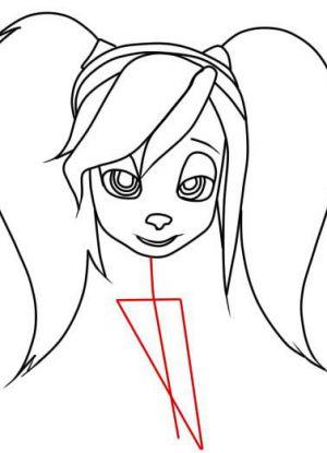 Как нарисовать Розу Барбоскину 5