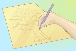 как нарисовать семейное дерево 1