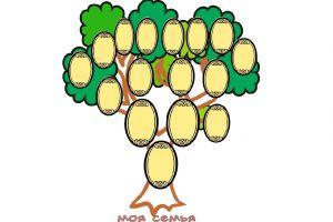 как нарисовать семейное дерево 11