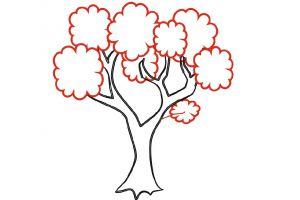 как нарисовать семейное дерево 8