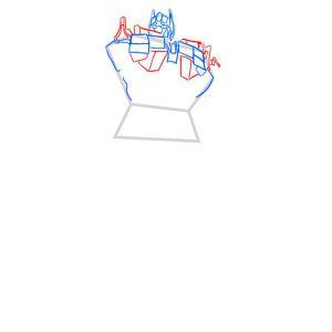 Как сделать трансформера оптимуса прайма фото 822