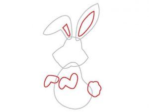 как нарисовать зайца поэтапно 2