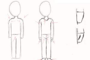 Как научить ребенка в 5 лет поэтапно рисовать человека 3