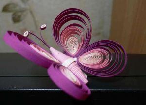 как сделать бабочку из бумаги 20