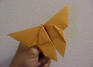 как сделать бабочку из бумаги 7