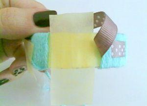 как сделать браслет из ниток13