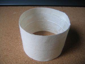 как сделать браслет из ткани2