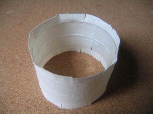 как сделать браслет из ткани3