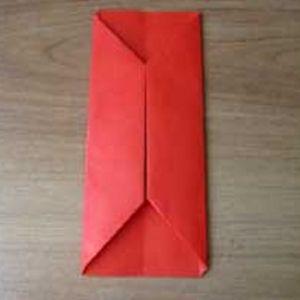 как сделать из бумаги кошелек7