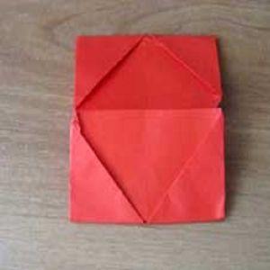 как сделать из бумаги кошелек8