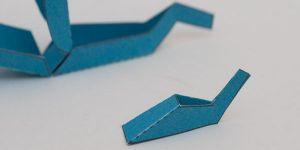 как сделать из бумаги робота 15