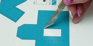 как сделать из бумаги робота 2