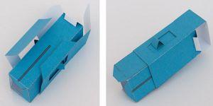 как сделать из бумаги робота 9