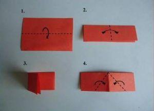 как сделать из бумаги ромашку 18