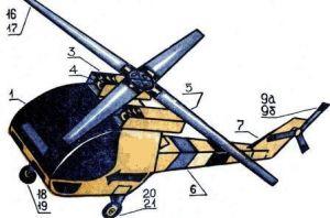 как сделать из бумаги вертолет 23