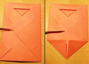 Как сделать конверт для денег без клея 8