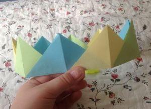 как сделать корону из бумаги 20
