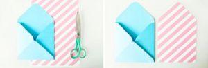 Как сделать красивый конверт из бумаги своими руками 2
