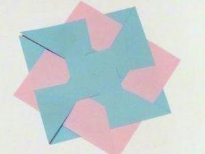 как сделать необычную бумажную вертушку 3