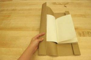 как сделать обложку для книги6