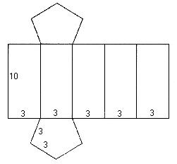 Пятиугольник объемный схемы