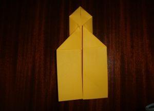 как сделать ракету из картона 15