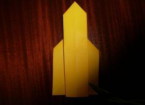 как сделать ракету из картона 16