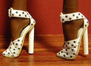 как сделать туфли для барби17
