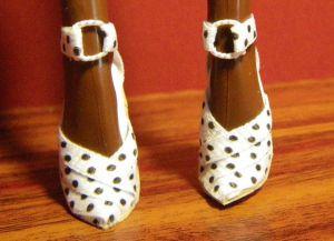 как сделать туфли для барби18